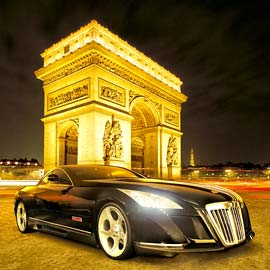Maybach Excelero in Paris IMAGE-DELUXE HDRetouching presents more details