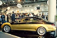 Carlsson Aigner CK65 RS Eau Rouge Gold Top Marques Monaco Grimaldi Forum in Monaco